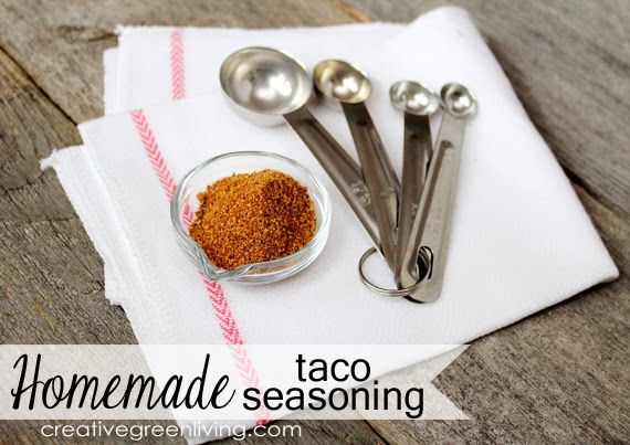 Homemade taco seasoning homemade taco seasoning mix and taco