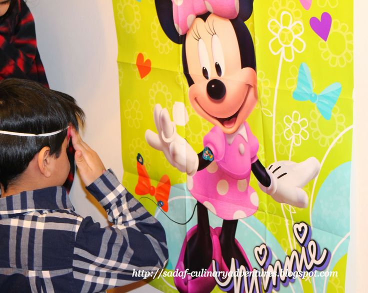 Put the Ring on Minnie game from Party City