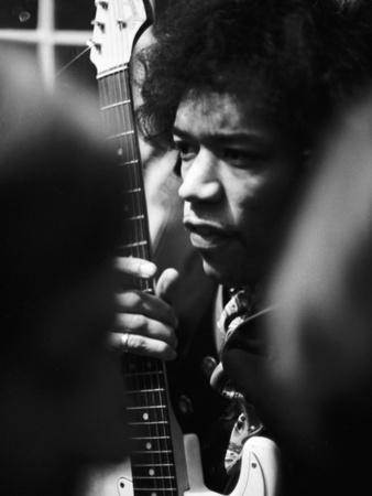 Jimi Hendrix -1968 by G. Marshall Wilson