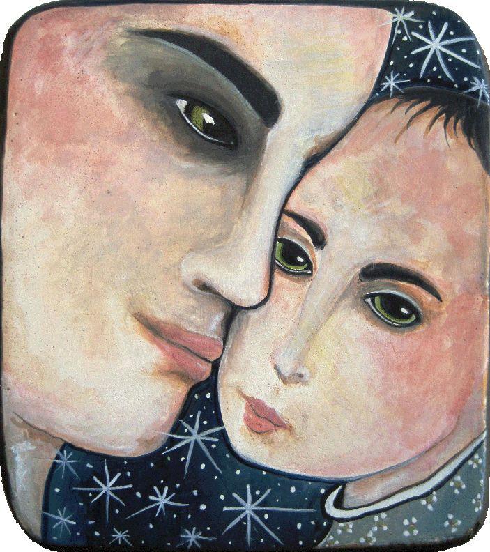 Madonna and Child by Virginia Maria Romero