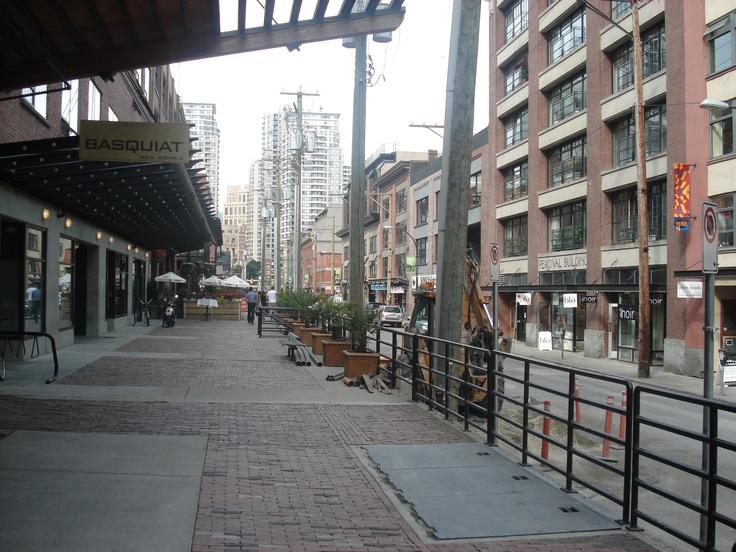 CITYSCAPE: YALETOWN — VANCOUVER