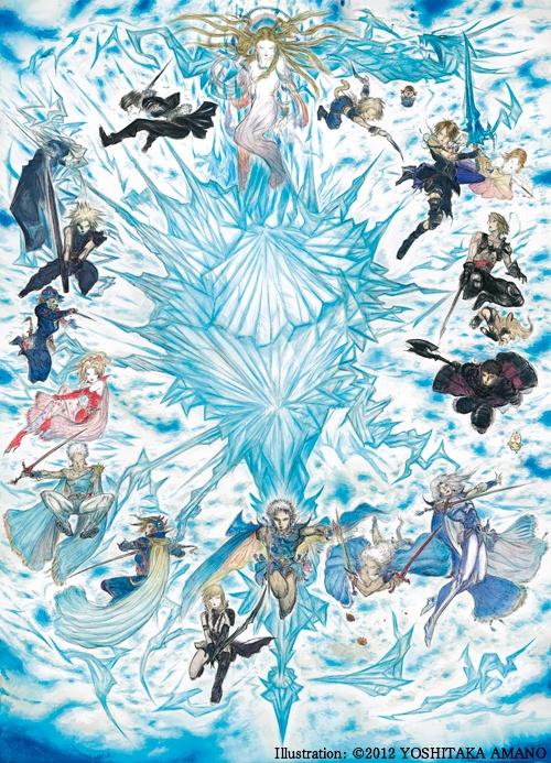 Final Fantasy vai ganhar box de aniversário com os 13 games da série em disco