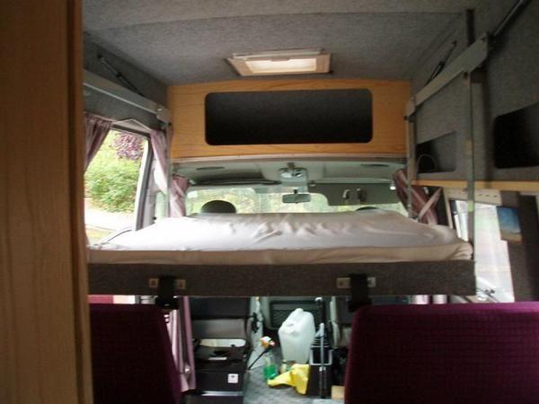 2002 VAUXHALL MOVANO LWB Panel Van Conversion Diesel In Wirral