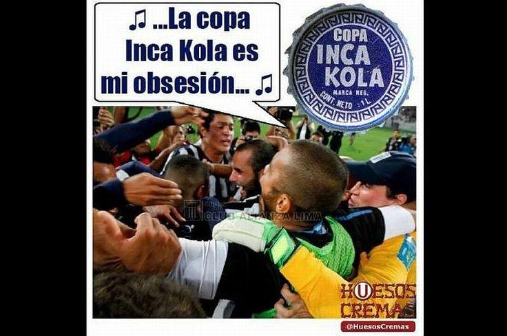 Copa Inca 2014: Hinchas de la 'U' se burlan de Alianza Lima con memes