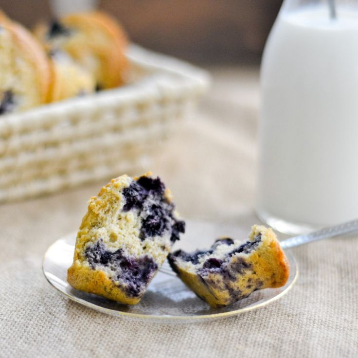 Healthy Blueberry Muffins | Sukarah.com