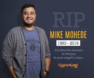 RIP Mike Mohede, 1983 - 2016...