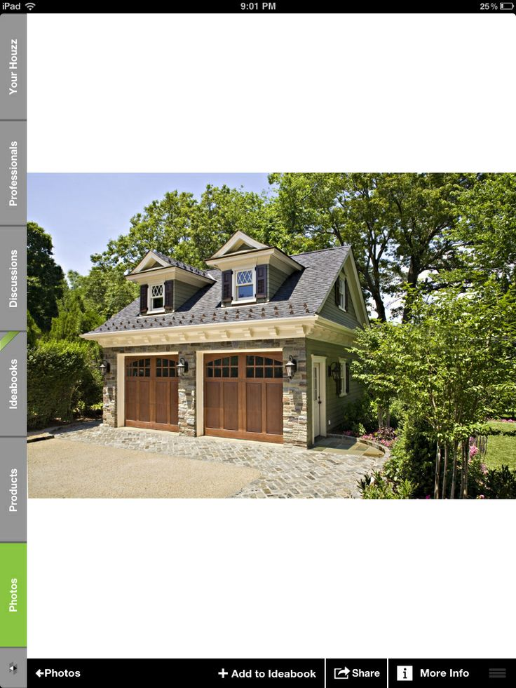 100 best garage ideas images on pinterest garage ideas for Adding a second story to a detached garage