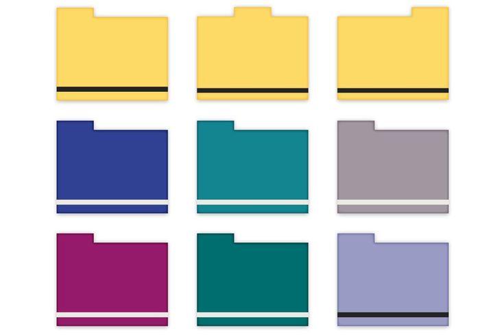 Minimalist Folder Icons Folder Icon Icon Desktop Icons