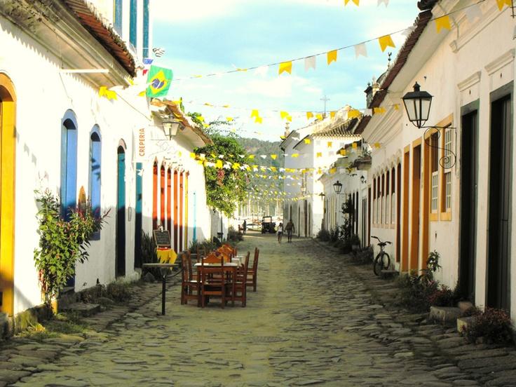 historic centre of Paraty, Rio de Janeiro