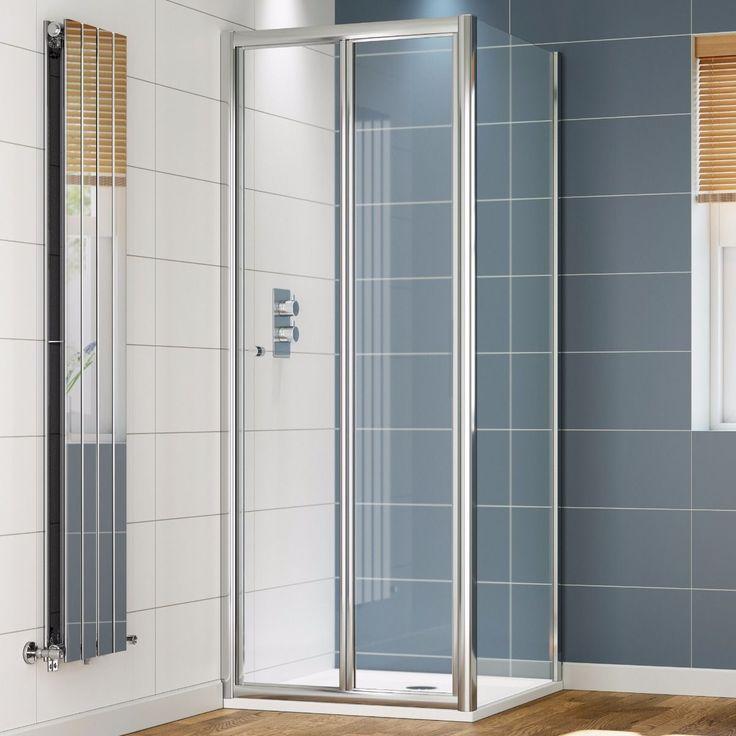 Douchecabine Vierkant Vouwdeur Economic 4 mm Glas - 80 x 80 cm  Douchedeur vouwbaar Scherm de douche af en maak een mooie ontspannen waterhoek. Houd de douchewarmte binnen! En de spetters: de badkamer blijft netjes droog. Ideaal voor op een douchebak maar je kunt hem ook op de vloer plaatsen. De douchedeur kun je handig vouwen wat ruimtebesparend werkt. Doordacht design Het glimmende aluminium frame en de roestvrij stalen greep zijn sterk. En roesten niet. Het glas is maar liefst 4 mm dik en…