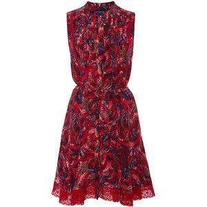 Saloni Tilly-E Button-Up Dress