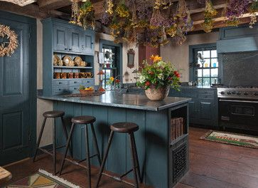 10 Colorful Kitchens - Town & Country Living