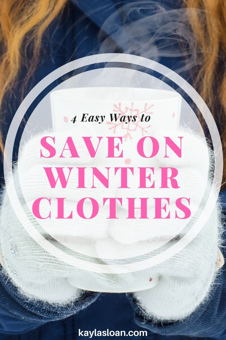 Warm winter clothes don't have to make you go broke. There are lots of ways to save big money on high quality winter clothes if you shop smart.