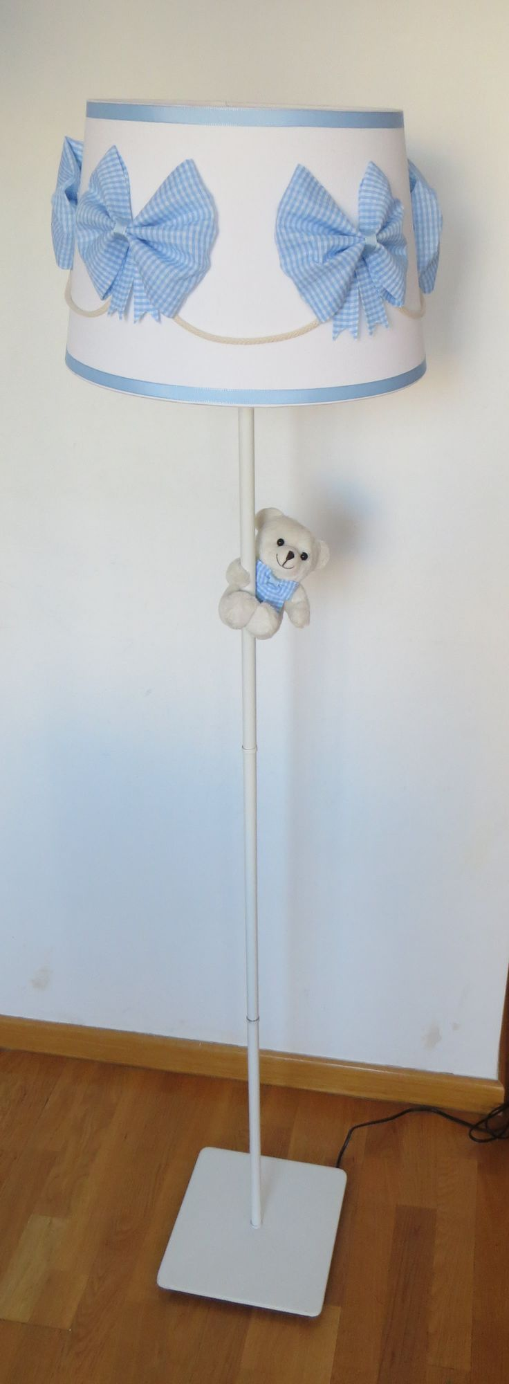 lampara pie bebe azul osito (1)