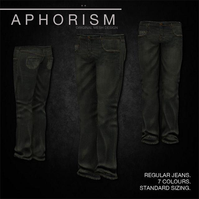 !APHORISM! Regular Jeans vintage 1 | Flickr - Photo Sharing!