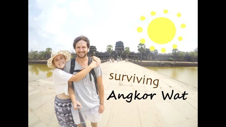 Surviving Angkor Wat | Cambodia | Travel VLOG by The Married Wanderers