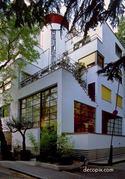 Artdeco house for mallet stevens paris france art - Deco tour de france ...