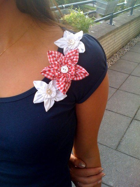 Fabric Flowers - How to make them!