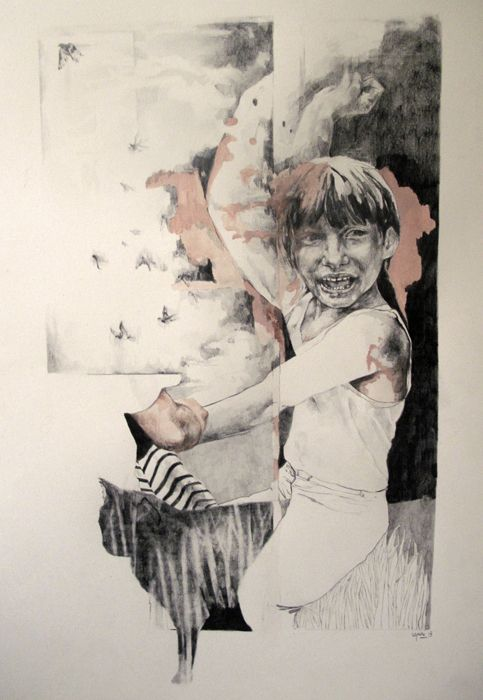 High Hopes  2013  56X76  Pencil on paper