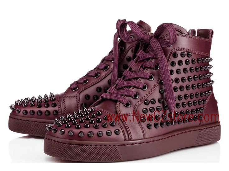 christian louboutin baskets homme