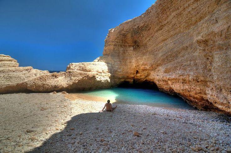 Koufonisia Island - Gala Beach (Small Cyclades, Greece)