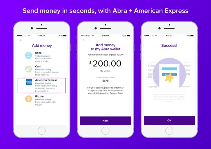 American Express Brings Credit Card Buying to Bitcoin App Abra - Beginning today, a select group of Abra users and new customers will see the option to buy bitcoin with their American Express card. The months-long integration process between the two companies involved Abra exposing the depths of its business processes to its partner and investor, and has... - https://thebitcoinnews.com/american-express-brings-credit-card-buying-to-bitcoin-app-abra/