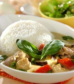 タイ風グリーンカレー」の献立・レシピ - 【E・レシピ】料理のプロが ... タイ風グリーンカレーの献立