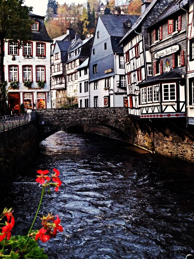 Monschau, Germany. One of the oldest towns in Germany. I was lucky enough to visit with my future hubby, papa, and mama.