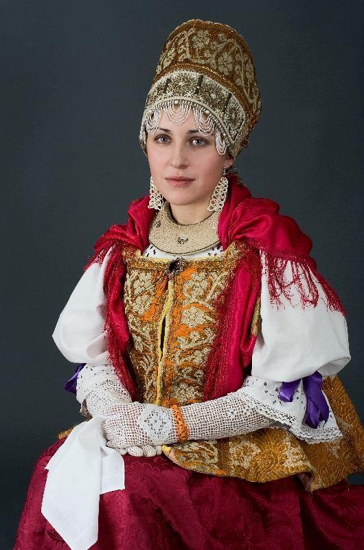 Русский народный костюм в работах Дмитрия Давыдова