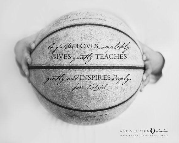 Impresión de baloncesto regalo personalizado para le