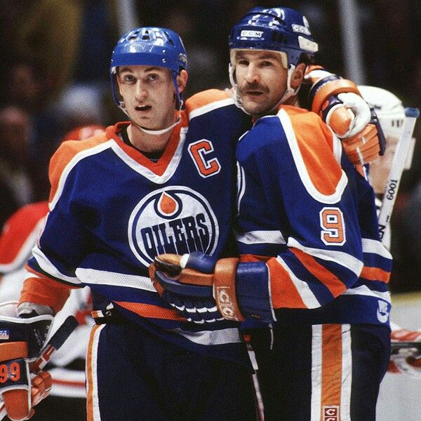Wayne Gretzky and Glenn Anderson | Edmonton Oilers