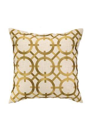 50% OFF Peking Handicraft Parisian Lights Pillow, Citron