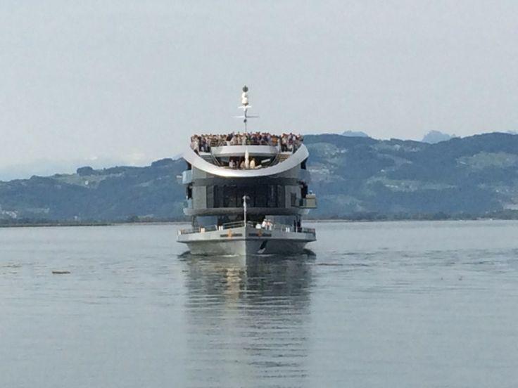 Laiva tulee, Mainau ja Bodensee 2014.
