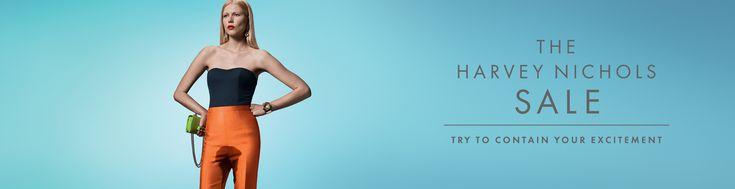 Harvey Nichols Summer Sale: Over Excitement, Woman, 1