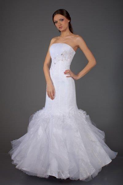 Огромная свадебная юбка