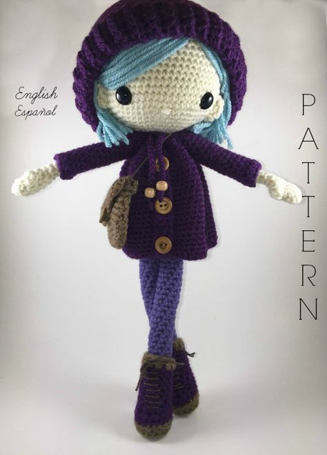 Crochet pattern for doll IDA p |