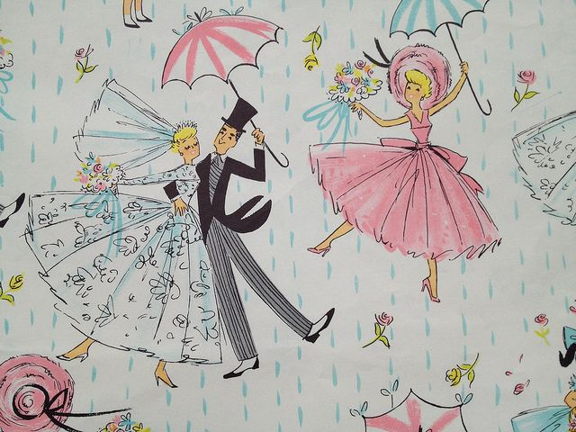 Wedding Gift Paper: 1681 Best Images About VINTAGE WRAPPING PAPER On Pinterest