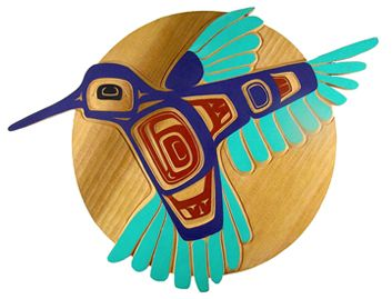Northwest Coast First Nations Native Indian Art Tlingit Cedar