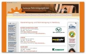 Rohrreinigungsfirmen in Hamburg