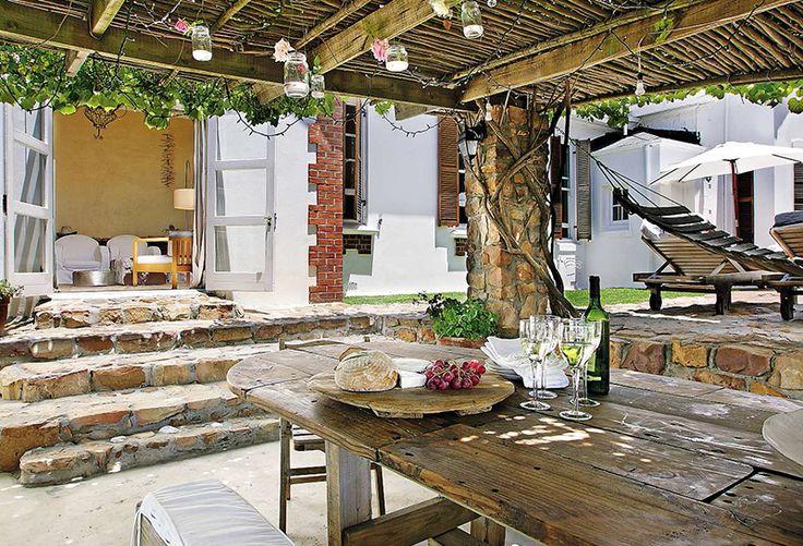 'n Informele kuier-huis in die hartjie van Kaapstad