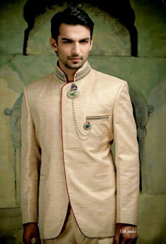 Men's Western Indo Wedding Suit Ideas