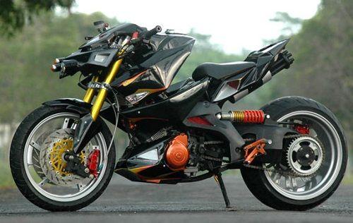 Suzuki Satria FU150 Modifikasi Transformers...|Girls, cars and bikes
