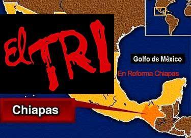 Concierto de EL TRI de México Reforma Chiapas 19 de Febrero 2015