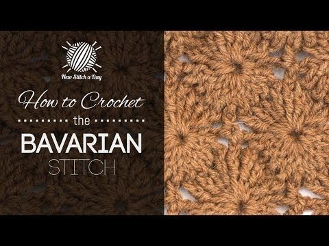 How to Crochet the Bavarian Stitch - Video <3