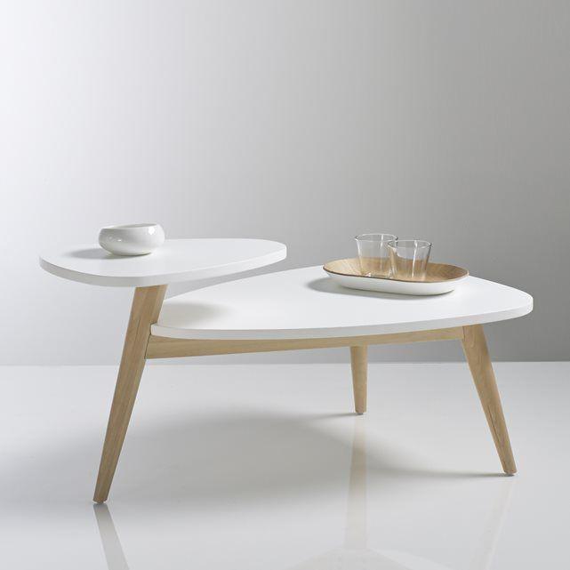 Table basse vintage double plateau, Jimi La Redoute Interieurs | La Redoute Mobile