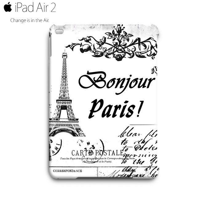 Vintage Eiffel Tower Postcard iPad Air 2 Case Cover Wrap Around