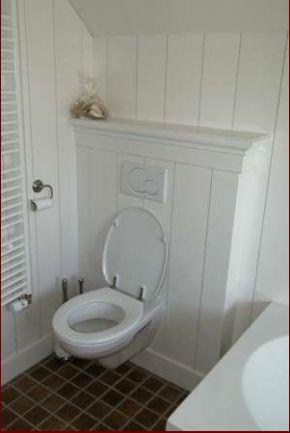 mooie ombouw voor de wc