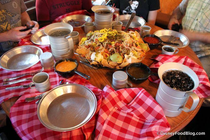SECRET MENU! Nachos Rio Grande Challenge at Pecos Bill Tall Tale Inn and Cafe in Disney World