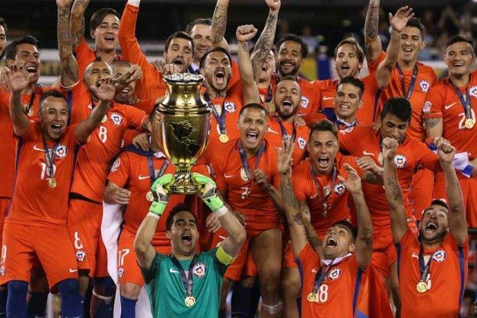 Chile Bicampeón 2016.★
