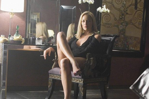 """Sharon Stone reprised her role as Catherine Tramell in """"Basic Instinct 2,"""" the sequel to the 1992 erotic thriller. But moviegoers weren't turned on and it bombed."""